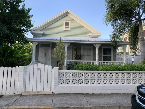 This home in Key West is for rent for $10,000 a month during the busy tourist season.