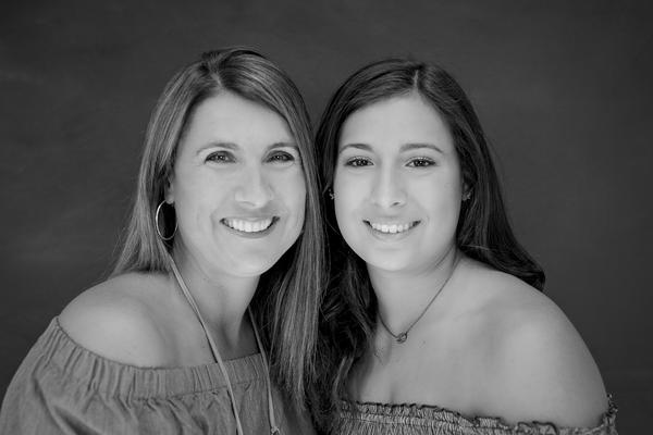 Susan Wind, left, and her daughter Taylor, right.
