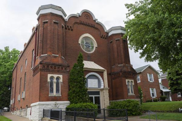 B'nai Sholom temple was built in the late 1860s. Congregants of the Quincy synagogue hope another religious organization will purchase and preserve the historic building.
