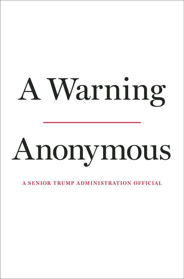 Anonymous Author of Explosive Trump Administration Insider Op-Ed To Publish Book