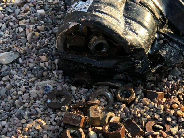 First believed to be an improvised explosive device, the object found at a Helena school was pop a bottle filled with nuts and bolts and wrapped with tape.