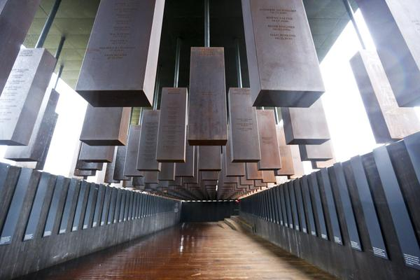 The National Memorial for Peace and Justice in Montgomery, Ala. (Brynn Anderson/AP)