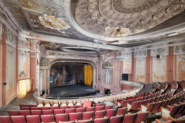 Photo of the Madison Theater recently taken by Matt Lambros