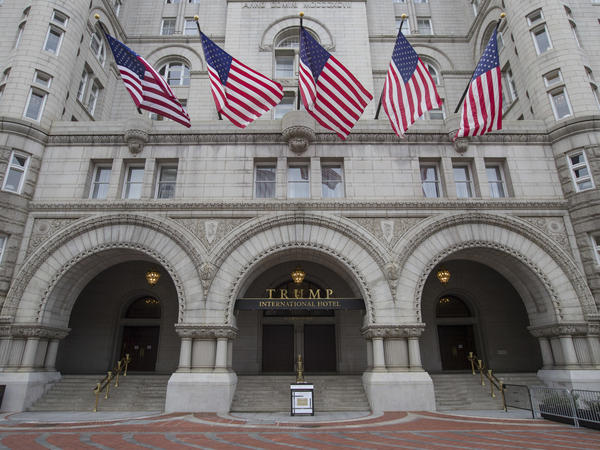 The Trump International was built in the historic Old Post Office building in Washington and has often hosted diplomats, lobbyists and other D.C. bigwigs.