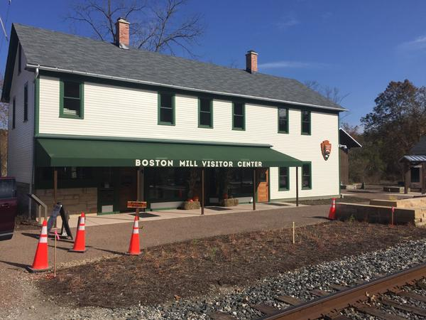 The new Boston Mill Visitor Center at Cuyahoga Valley National Park is now open.