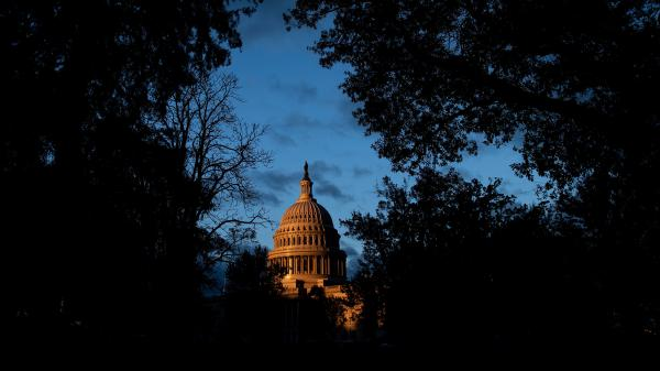 A view of the U.S. Capitol this month. Charles Kupperman, deputy to former national security adviser John Bolton, did not appear Monday to testify in the impeachment inquiry of President Trump.