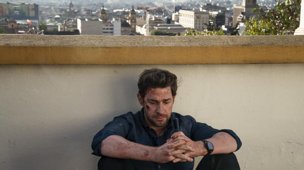 John Krasinski is a smarter-than-thou Jack Ryan — a more righteous than lovable ex-marine who works as a financial analyst for the CIA.