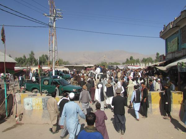 Human Rights Watch says one of the deadly raids happened in the Rodat district of Afghanistan's Nangarhar province in late October 2018. Residents gathered there two days later.