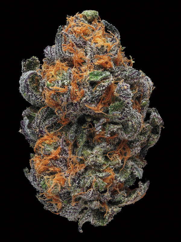 GDP (Granddaddy Purple). Smell/taste: grape, creamy, berry. Common effects: euphoria, relaxed, body buzz. Top medicinal uses: appetite and pain.