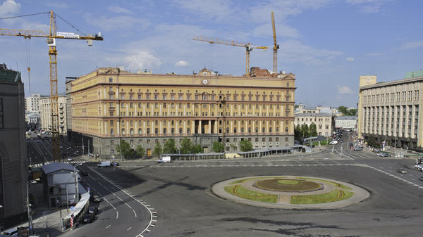 A view of the Russian Federal Security Services on Lubyanka Square in Moscow in 2013. Journalists, dissidents and human rights workers say they are often followed or harassed by the Russian spy service.