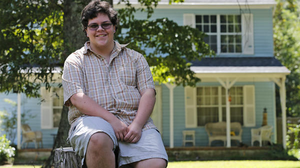 The case of transgender high school student Gavin Grimm, seen here last year, has been sent back to a lower court by the Supreme Court.