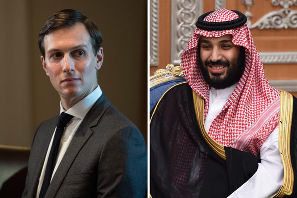 White House senior adviser Jared Kushner and Saudi Crown Prince Mohammed bin Salman have reportedly forged close ties focused on the Middle East peace process.