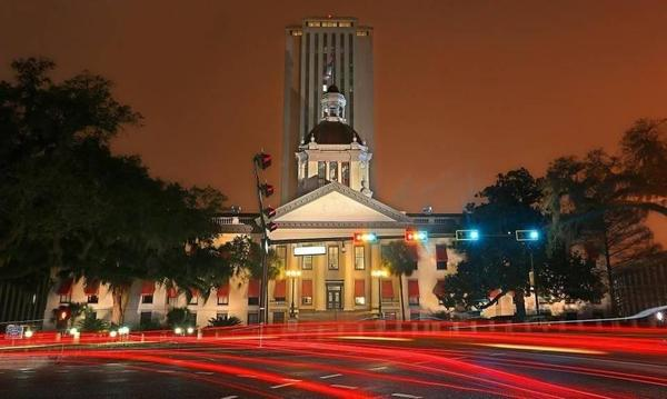 Florida's historic Old Capitol building in Tallahassee.
