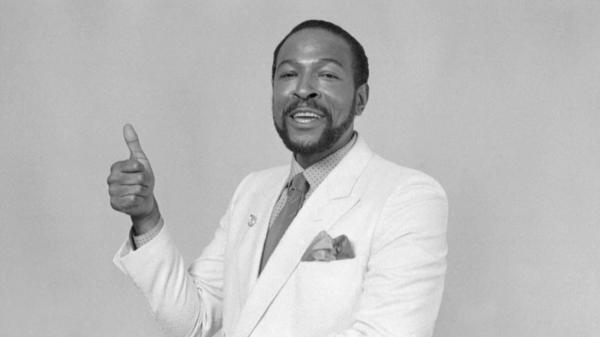 Marvin Gaye, photographed in 1983.