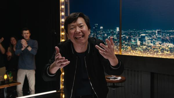 Ken Jeong's new Netflix comedy special is called <em>You Complete Me, Ho —</em> after his wife, Tran Ho.