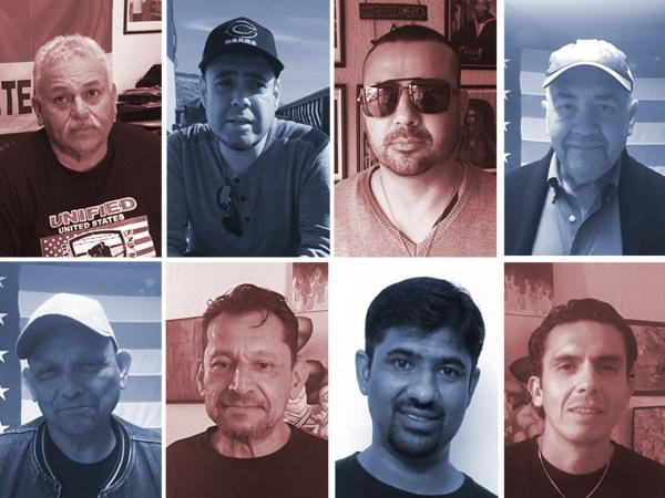 Hector Lopez, Miguel Perez, Felipe de Jesus Pérez, José Velasco, Mario Rangel, Jiji Kurian, and Alex Murillo are some of the veterans the United States has deported.