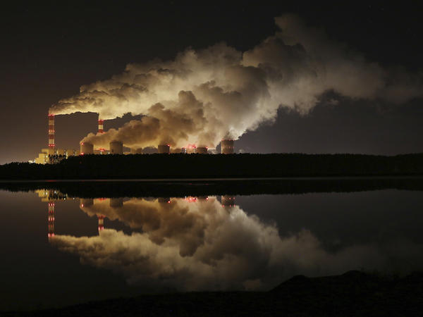 A coal-fired power plant in central Poland. Global greenhouse gas emissions rose in 2018, and the world is on track for potentially catastrophic climate change in the coming decades.