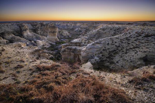 Little Jerusalem Badlands State Park in Logan County, Kansas, opens Oct. 12.
