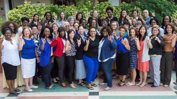 A new grant focusing on minority women studying in the STEM field will be used to fund boot camps modeled after week-long intensive that have been happening at USF Tampa for five years. COURTESY DR. DEVONA F. PIERRE