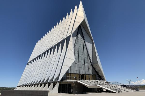 The Chapel at the United States Air Force Academy is closed for at least four years for extensive repairs.