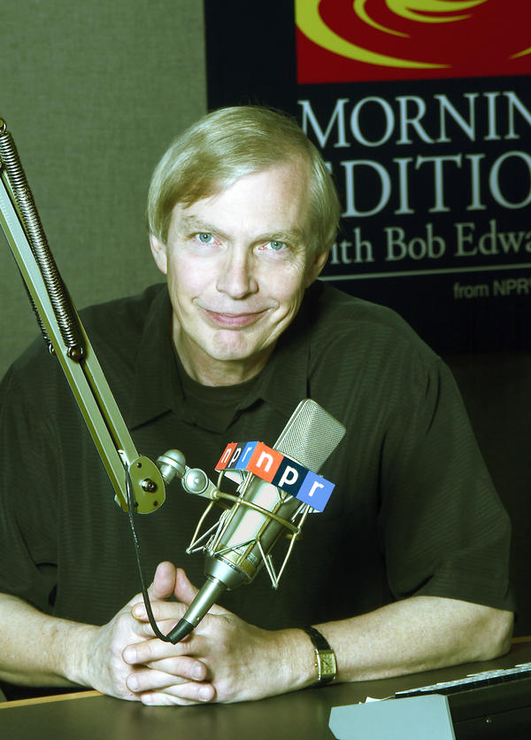 Bob Edwards, host of Morning Edition from 1979-2004.