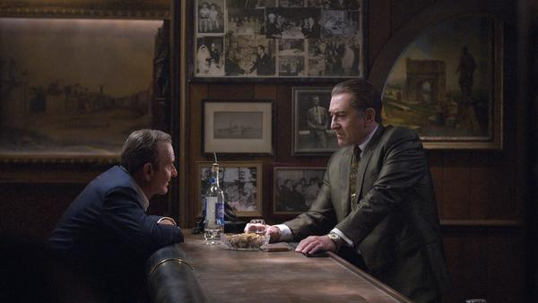 Joe Pesci and Robert De Niro play friends — and mobsters — in <em>The Irishman. </em>