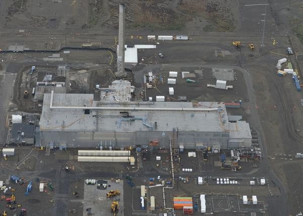 Hanford's Plutonium Finishing Plant pictured in October 2016.