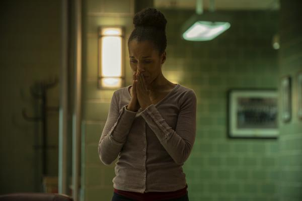 In Netflix's <em>American Son</em>, Kerry Washington plays Kendra Ellis-Connor, a black mother of a black son who's gone missing.