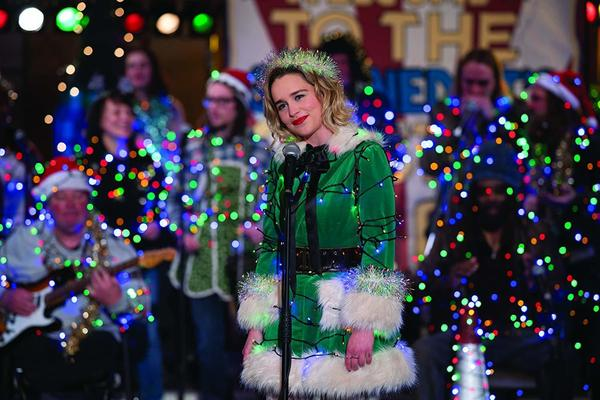 Emilia Clarke stars in Paul Feig's <em>Last Christmas</em>.