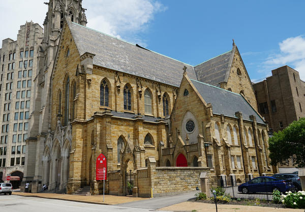 Christ Church Cathedral celebrated its 200th anniversary on Friday.