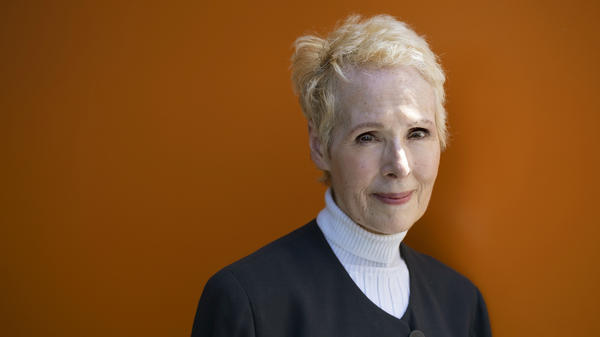 E. Jean Carroll, seen in a portrait taken earlier this year, filed a defamation lawsuit against President Trump on Monday. She says Trump sexually assaulted her in a department store dressing room in the 1990s. In her lawsuit, she alleges the president harmed her reputation and career when he said she was lying.