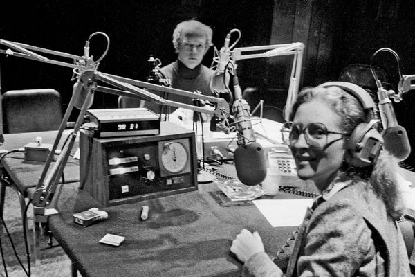 Noah Adams, former co-host of All Things Considered, and Barbara Hoctor, former co-host of Morning Edition.