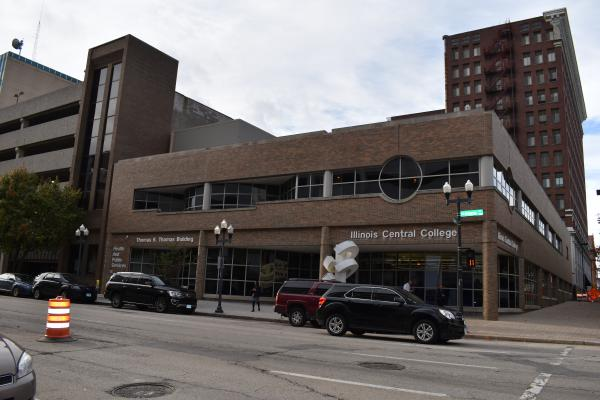 The current ICC Thomas Building in Downtown Peoria is set to become the Peoria Innovation Hub.