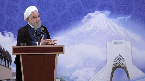 Iranian President Hassan Rouhani announced Tuesday that Iran will begin injecting uranium gas into centrifuges.