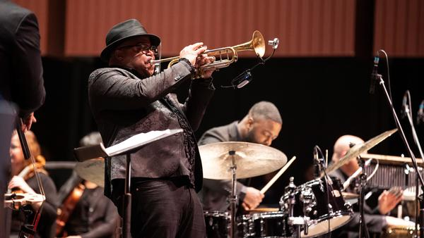 "Trumpeter and composer Nicholas Payton drew controversy in 2011 with his rejection of the word ""jazz."" Now, he's reimagining black music with a new symphony."