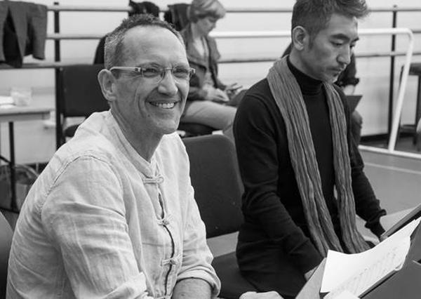 Osvaldo Golijov during rehearsal (Photo by Stephanie Berger)