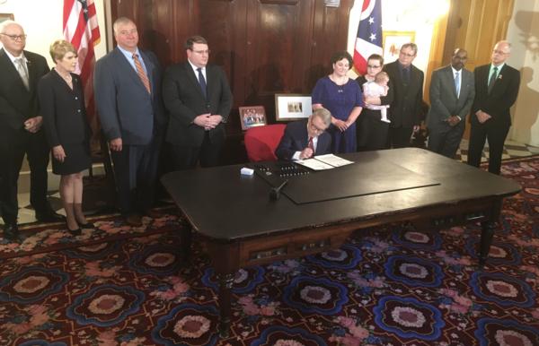 Gov. DeWine signs the bill into law