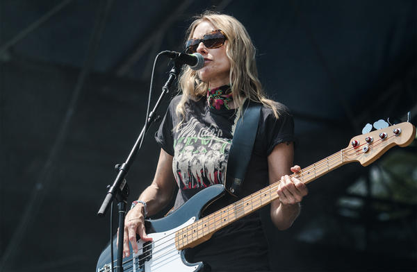 Aimee Mann performs at the Shaky Knees Music Festival in Atlanta. She's featured this month on Highway 309.