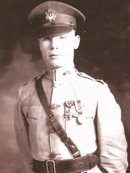 Sgt. Charles Kelley was honored with the Distinguished Service Cross in World War I.