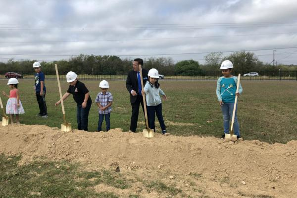 Southside ISD broke ground on a health clinic in 2018 to give students a location to receive medical care. The mostly rural school district has limited health services within its boundaries.