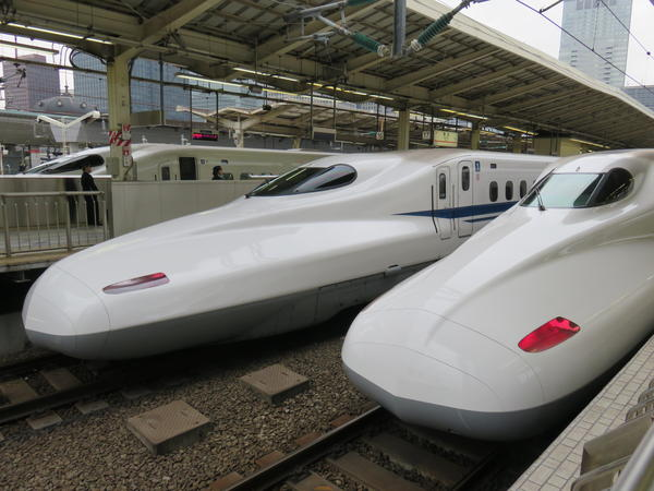 If only the Pacific Northwest could have speedy trains like the Shinkansen bullet trains, seen here in Tokyo.