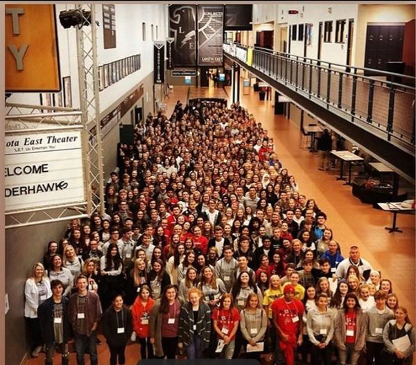 Hope Squads from around the region gathered for a conference at Lakota East this month.