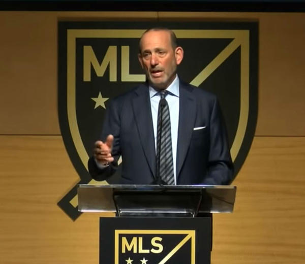 MLS Commissioner Don Garber mentioned Charlotte in his State of the League speech Friday.