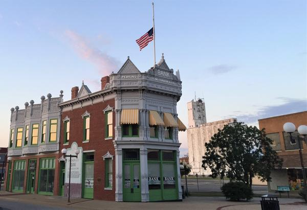Montgomery County is among more than two dozen Kansas cities and counties suing the opioid industry. Pictured above is Coffeyville in Montgomery County.