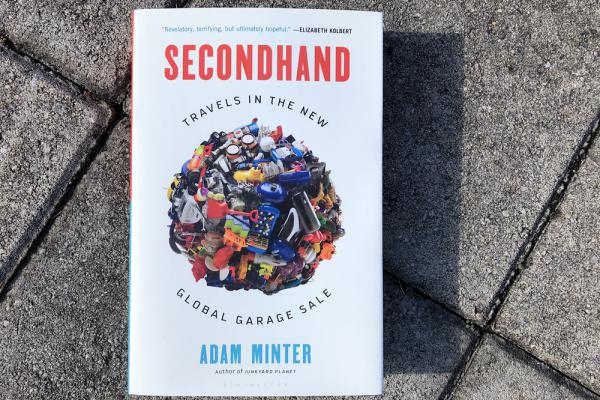 """Secondhand,"" by Adam Minter. (Alex Schroeder/On Point)"