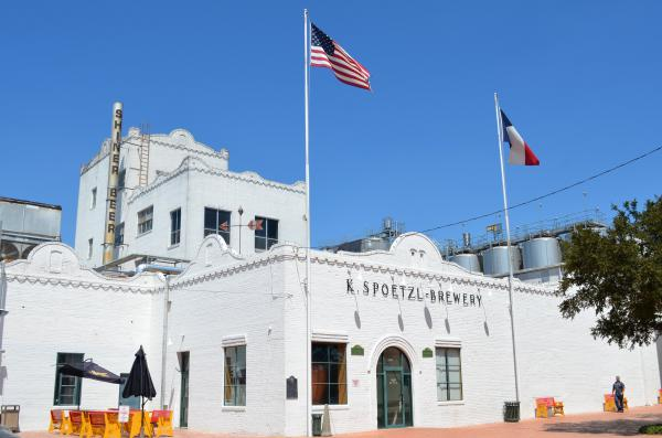 The Spoetzl Brewery in Shiner, Texas.