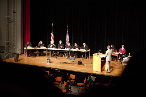 <p>Oregon Supreme Court hears arguments for the Chernaik v Kate Brown/State of Oregon lawsuit.&nbsp;</p>