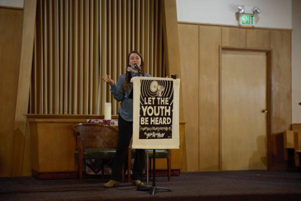 <p>One of the lead plaintiffs, Kelsey Juliana, said Oregon's state government and officials need to act now and stop the climate crisis.&nbsp;</p>