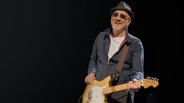 """Pete Townshend originally wrote the songs on The Who's new album for Roger Daltrey as a solo artist. """"I wrote them for Roger because I knew that Roger would sing them best,"""" he says."""
