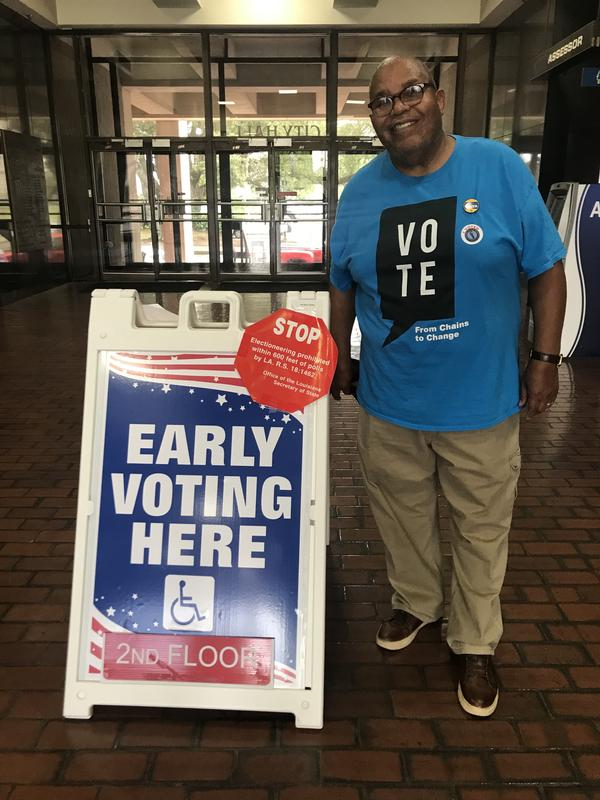Checo Yancy is one of 37,000 formerly incarcerated persons to have his voting rights restored this year, thanks to a new law.